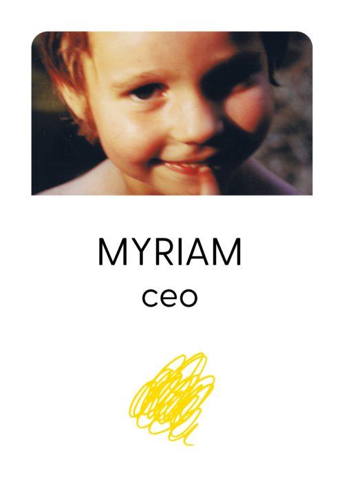 Myriam Thélu - CEO