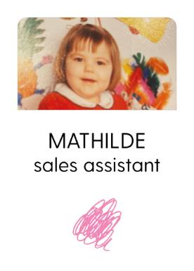 Mathilde - Sales assistant