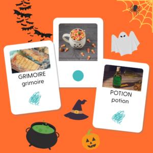 """Pack de cartes """"Halloween"""""""