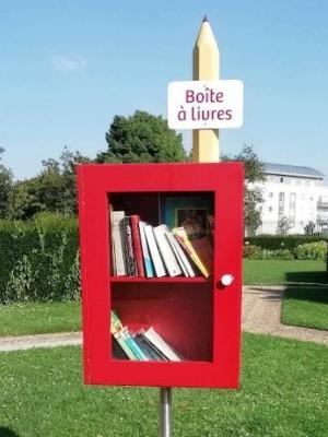 L'écoresponsabilité, c'est aussi utiliser des boîtes à livres !