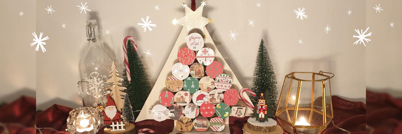 Activité pour Noël : réalisez votre propre calendrier de l'Avent !