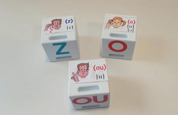 cubes méthode Borel-Maisonny