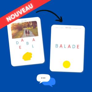 """Pack de cartes """"Méli-mélo"""""""